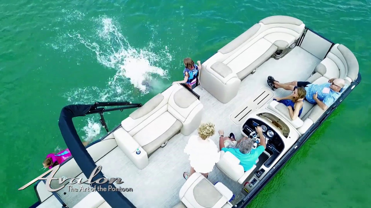 2019 Pontoon Boat AVALON CATALINA | Retro Luxury Pontoons