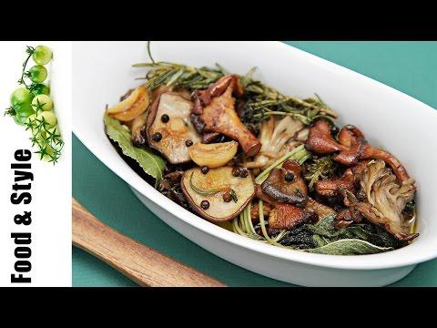 Wild Mushroom Confit With Garlic & Fresh Herbs