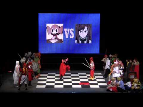 Anime Boston 2013 Chess Match - Complete - 1080p HD