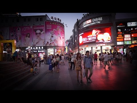 [Walking tour 漫步遊] Pedestrian street Dongmen Shenzhen 深圳 東門步行街