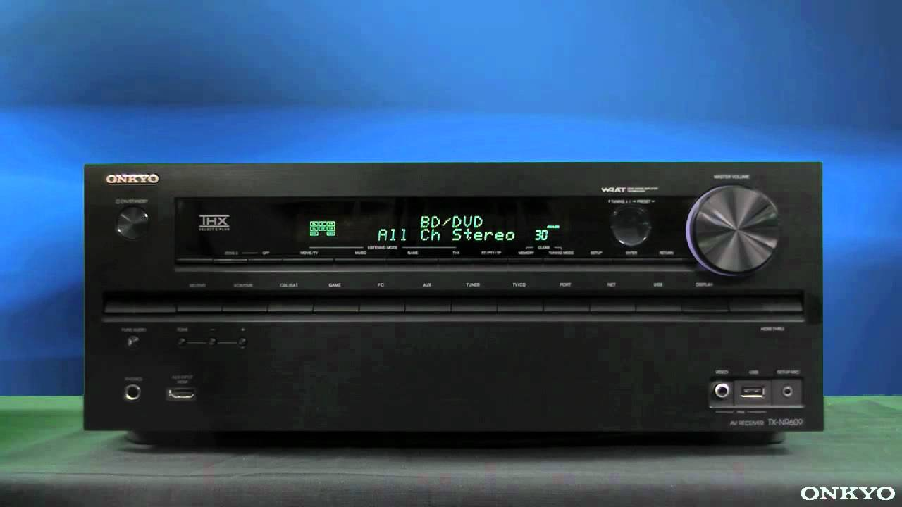 onkyo avr av home cinema receiver factory reset youtube rh youtube com