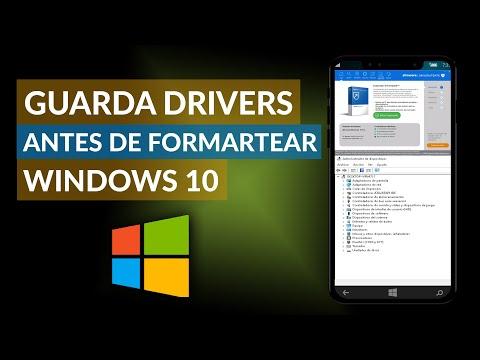 Cómo GUARDAR los DRIVERS de tu PC Antes de Formatear Windows 10
