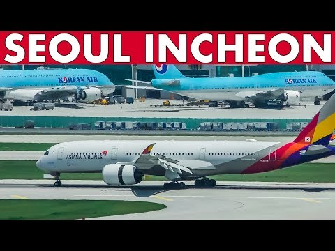 Airport Action SEOUL INCHEON Plane Spotting