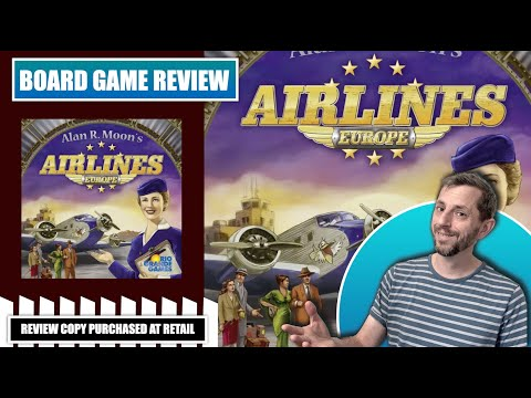 Europhile Reviews: Airlines Europe Board Game