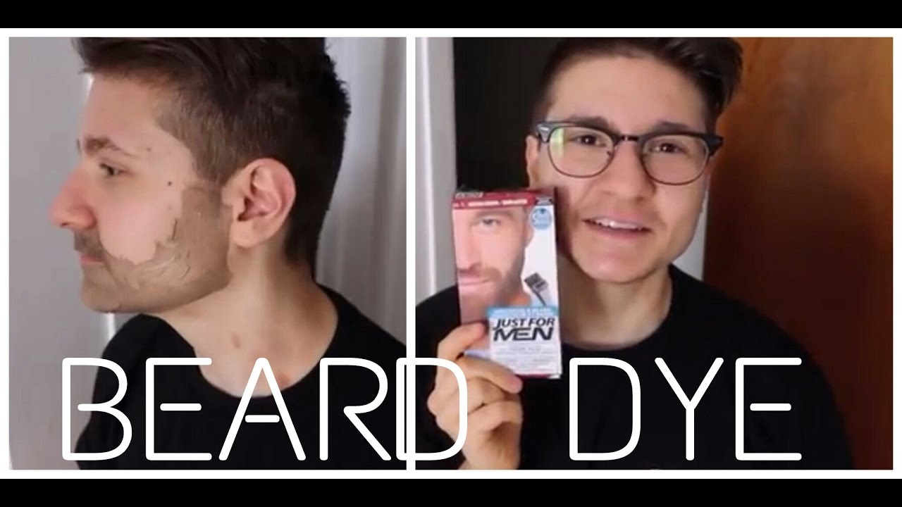 Ftm Tries Facial Hair Dye Youtube