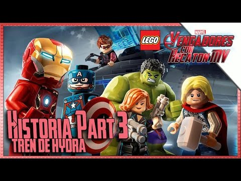 LEGO Marvel Avengers | Parte 3 | Tren de Hydra | Guía1080pHD