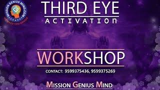 Third Eye Activation Workshop & Live Seminar Adult Midbrain | Mission Genius Mind