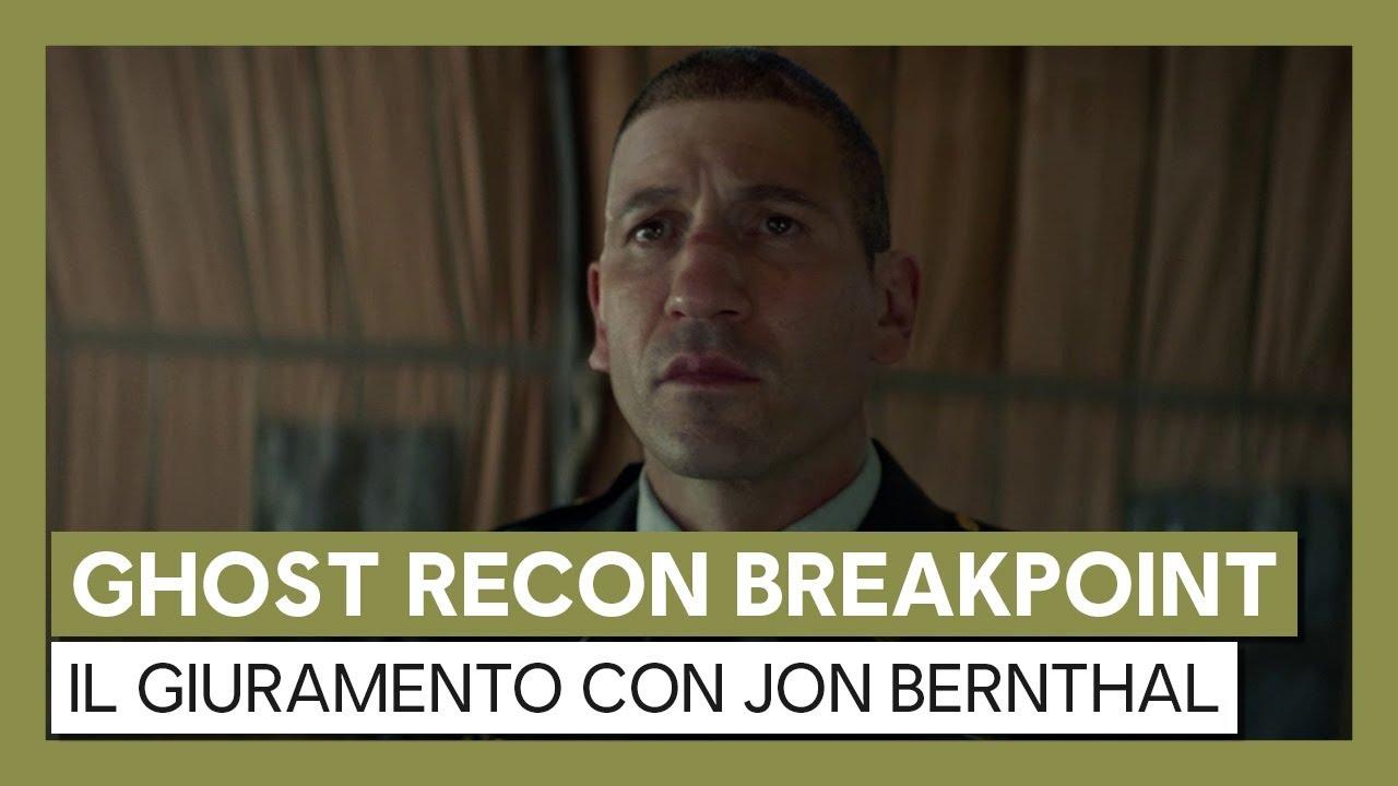 Ghost Recon Breakpoint: Il Giuramento - Trailer in live action con Jon Bernthal