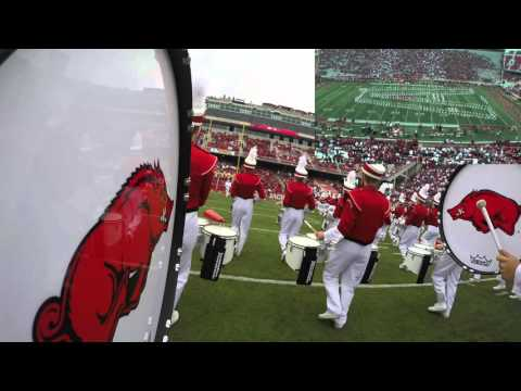 GoPro: 2015 Razorback Marching Band Pregame Show