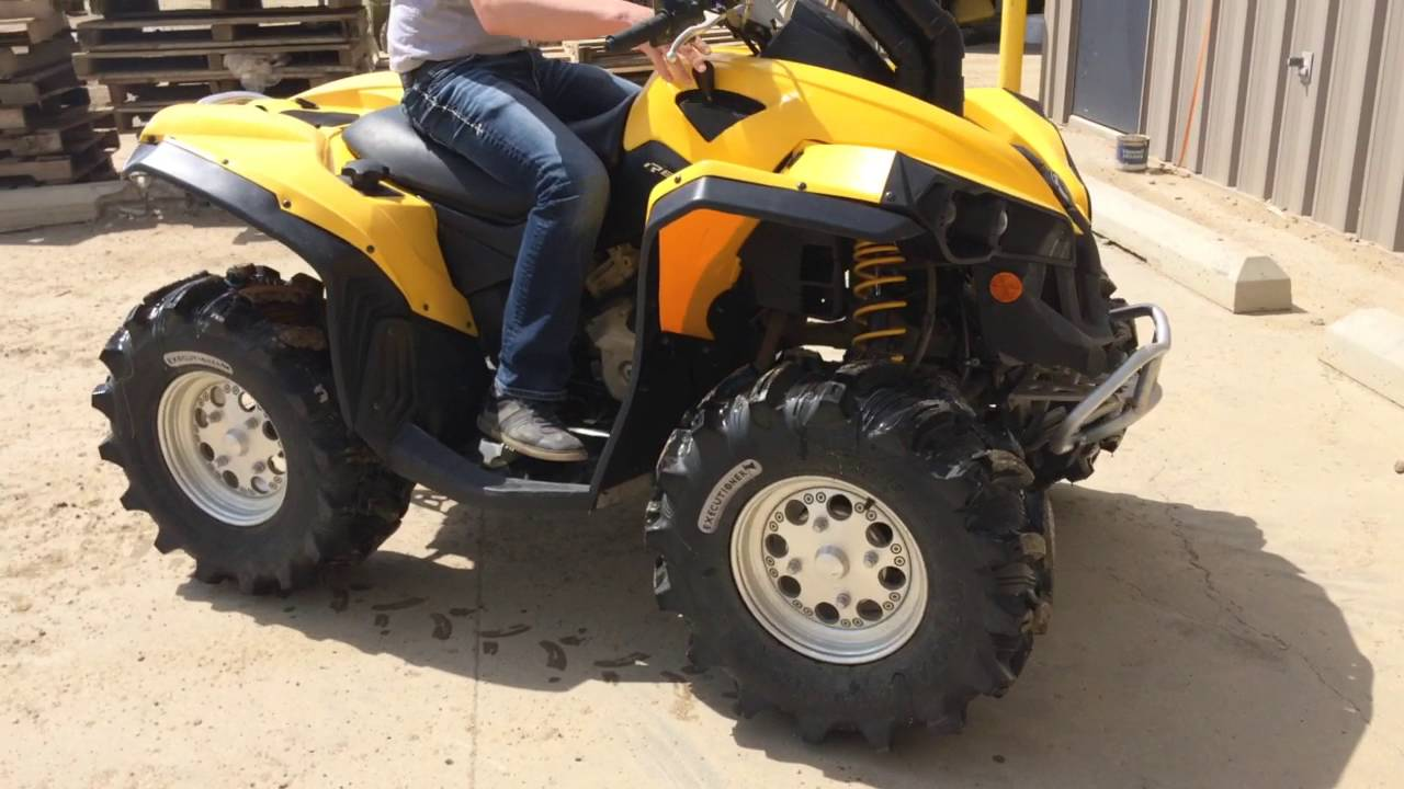 2012 Can Am Renegade 500 Quad - YouTube