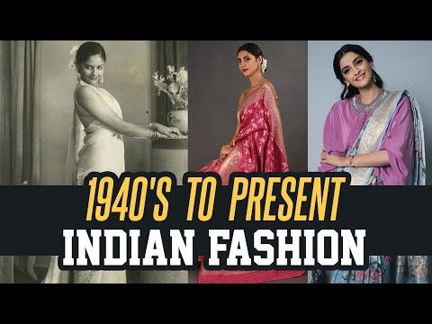 70 + Years Of Independent India's Fashion | Evolution Of Fashion In India | Aadhan Media