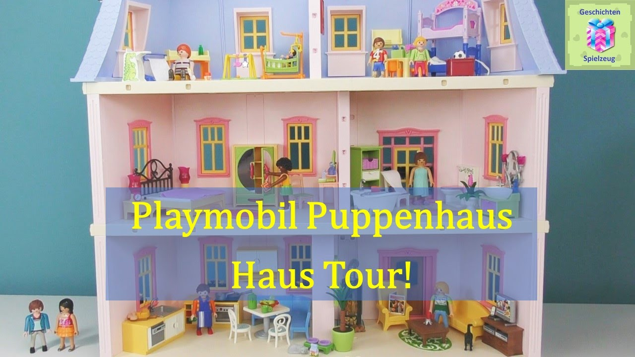 Playmobil romantisches puppenhaus haus tour