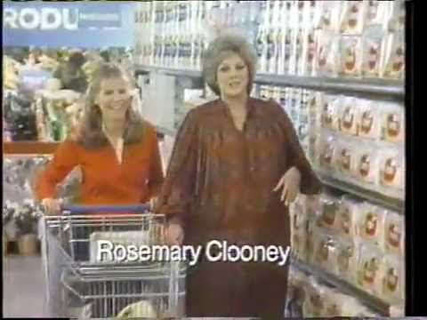 rosemary clooney 1981 coronet paper towels commercial youtube