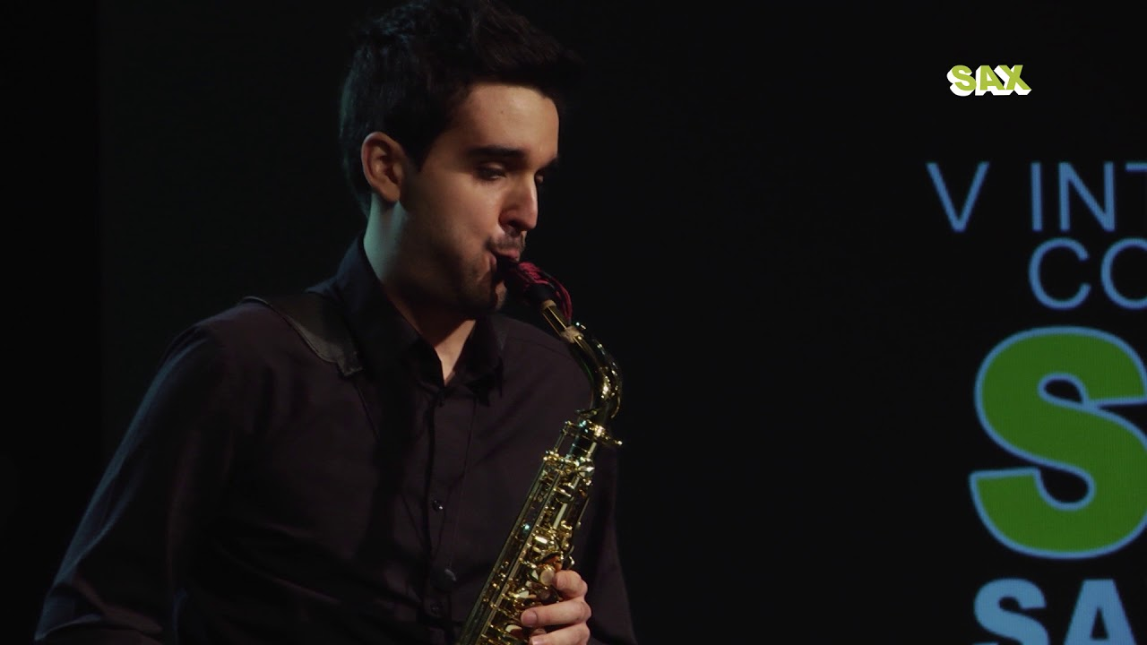 CARLOS ZARAGOZA ORGAZ - 2nd ROUND - V ANDORRA INTERNATIONAL SAXOPHONE COMPETITION 2018