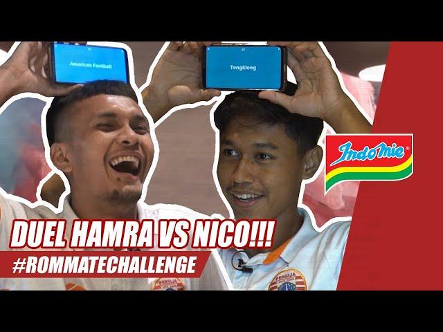 Duel Seru Hamra Hehanussa vs Alfriyanto Nico | #RoommateChallenge