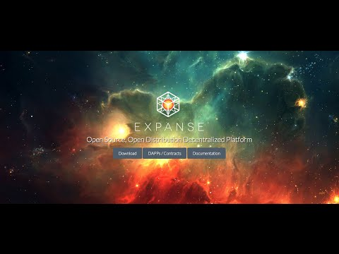 Ethereum Expanse - How to create a wallet address and start mining