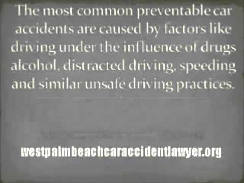 West Palm Beach Auto Accident Attorney - West Palm Beach Car Accident Lawyer
