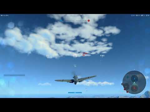 World Of Warplanes 2.0 BF 109G Through the fires!