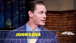 "John Cena Tells His Side of the Story About ""Chopping"" Sean Casey"