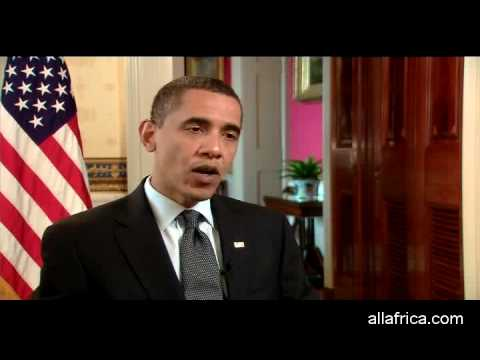 Obama Talks to AllAfrica at the White House - Part 1