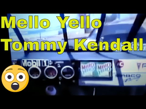 Tommy Kendall driving number 42 Mello Yello.