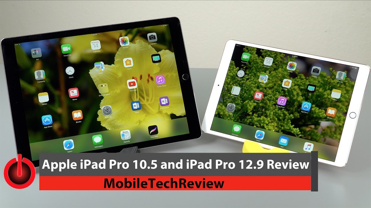100 Amp Disconnect >> Apple iPad Pro 10.5 & iPad Pro 12.9 2nd Gen Review - YouTube