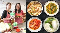 Making Kimchi ♦ Cooking Class in Korea