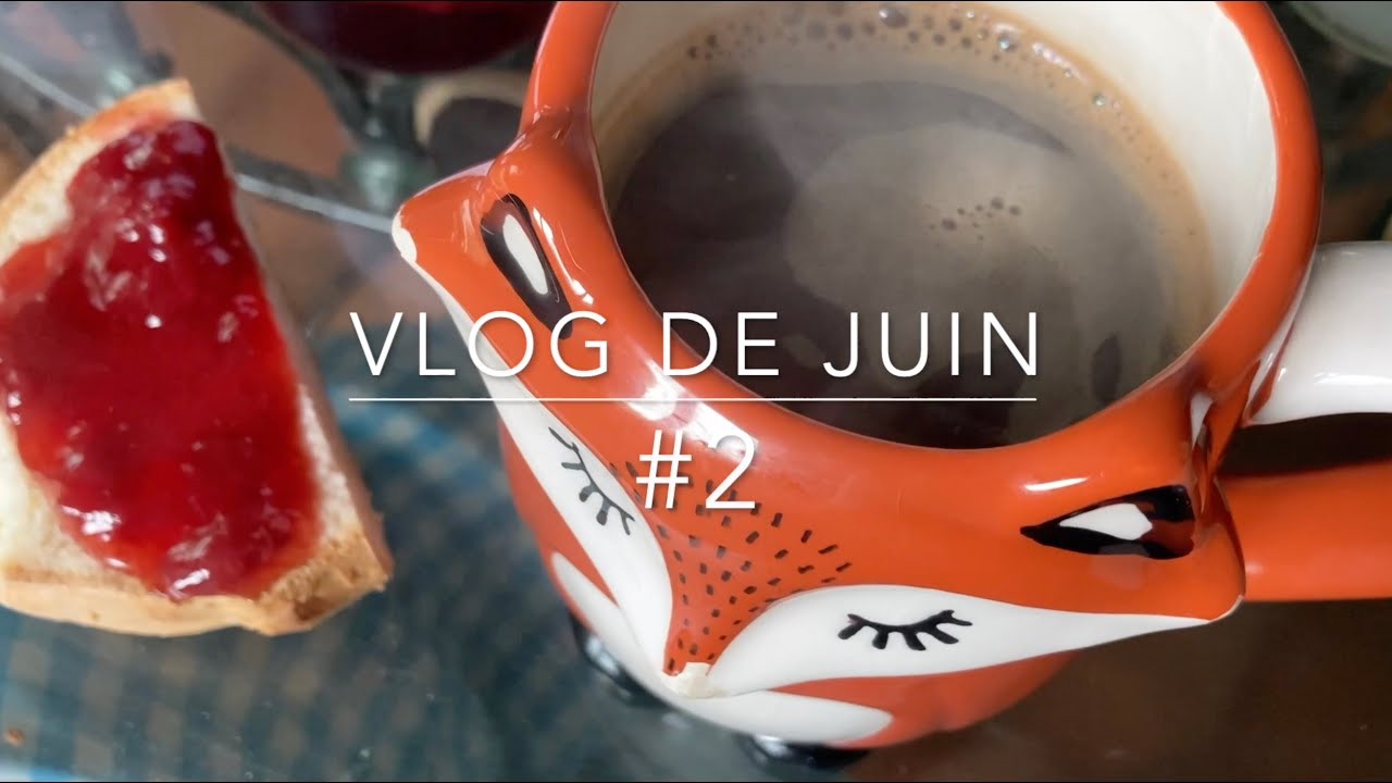 Dans l'atelier d'Eve - vlog de juin #2