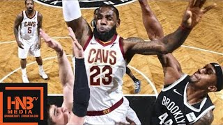 Cleveland Cavaliers vs Brooklyn Nets Full Game Highlights / March 25 / 2017-18 NBA Season