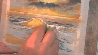 Angry Wave Speed Painting