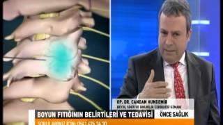 Önce Sağlık - Op. Dr. Candan Hundemir - Boyun fıtığı