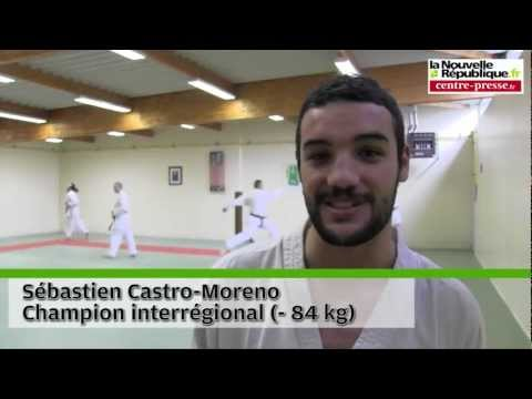 VIDEO. Karaté : Castro-Moreno Aux Championnats De France