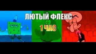 ГУБКА БОБ ФЛЕКСИТ 1 ЧАС КАК ДЕМОН