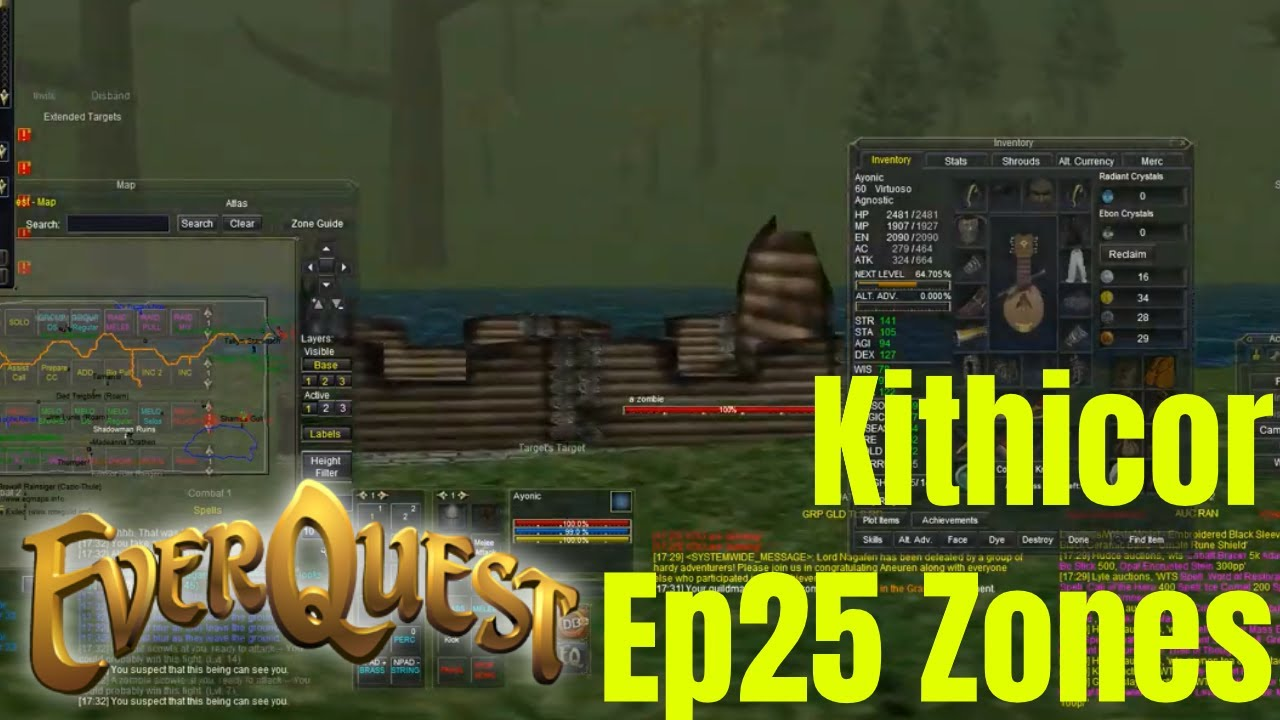 Ep25 Kithicor Forest Everquest TLP