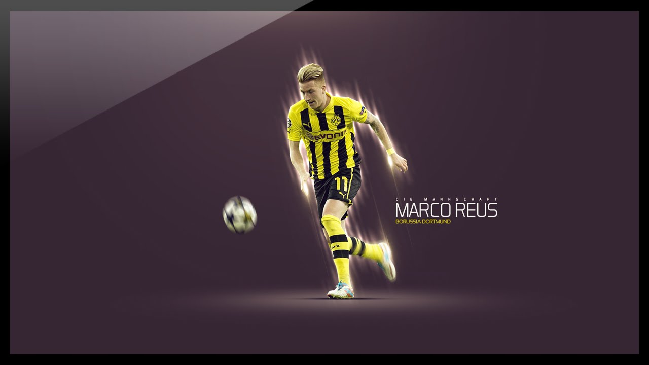 Photoshop Graphic Design - How to design a football wallpaper ...