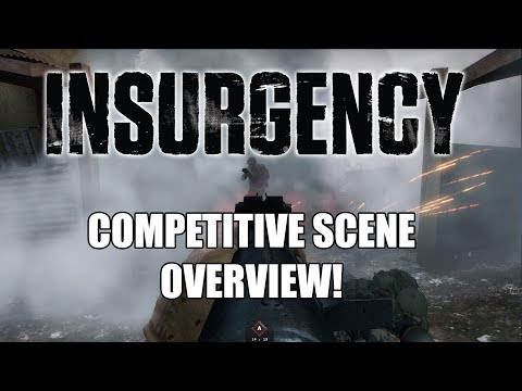 Competitive Insurgency Scene with JeMs, Wooly and Jo - Weekly Livestream 1/18/18