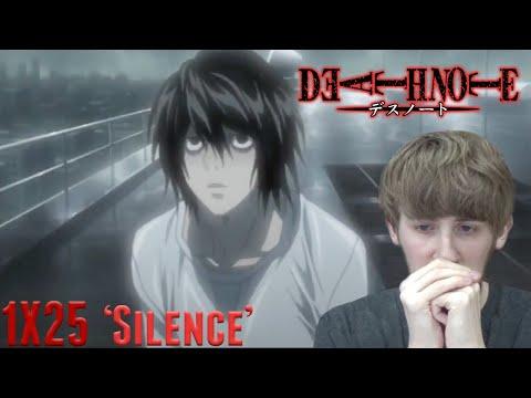 Death Note Episode 25 - 'Silence' Reaction