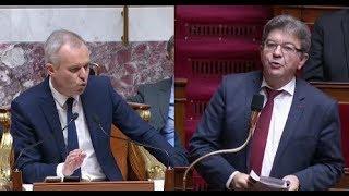 Echange tendu : Mélenchon rappelle les règles... au président de Rugy !