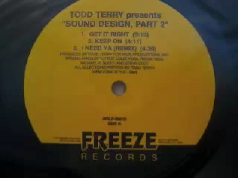 Todd Terry - Sound Design Part 2