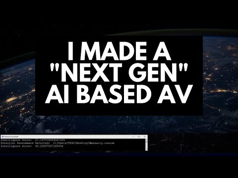 I Made A Next Gen AI Engine For Ransomware