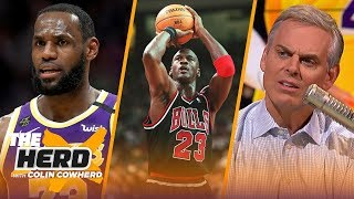 Download Colin Cowherd plays 'Michael Jordan or LeBron James?' trivia on MJ's birthday   NBA   THE HERD Mp3 and Videos