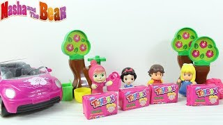 Maşa Heidi Clara Pikniğe Gidiyor Maşa'nın Yeni Arabası Maşa Heidi  ve Claraya Toybox Dağıtıyor