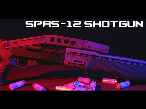 Franchi SPAS-12 shotgun (4K)
