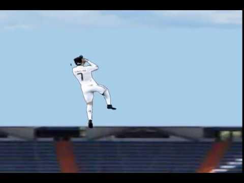 Cristiano Ronaldo Incredible Jump Must See Real No Fake