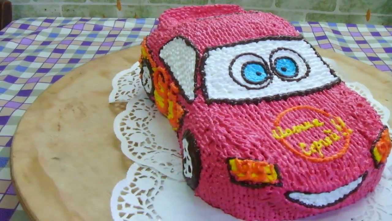 торт маквин из крема фото