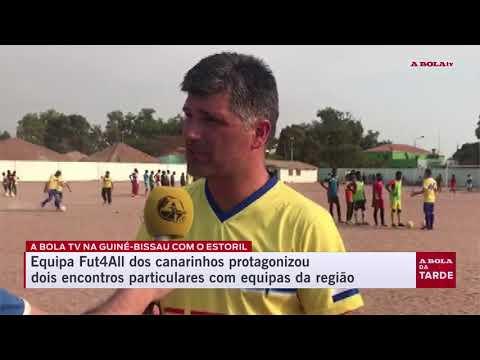Estoril Praia na Guiné-Bissau | Reportagem A Bola TV