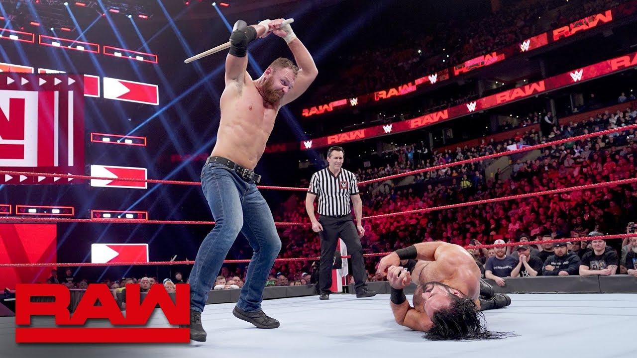 Download Dean Ambrose vs. Drew McIntyre - Last Man Standing Match: Raw, March 25, 2019