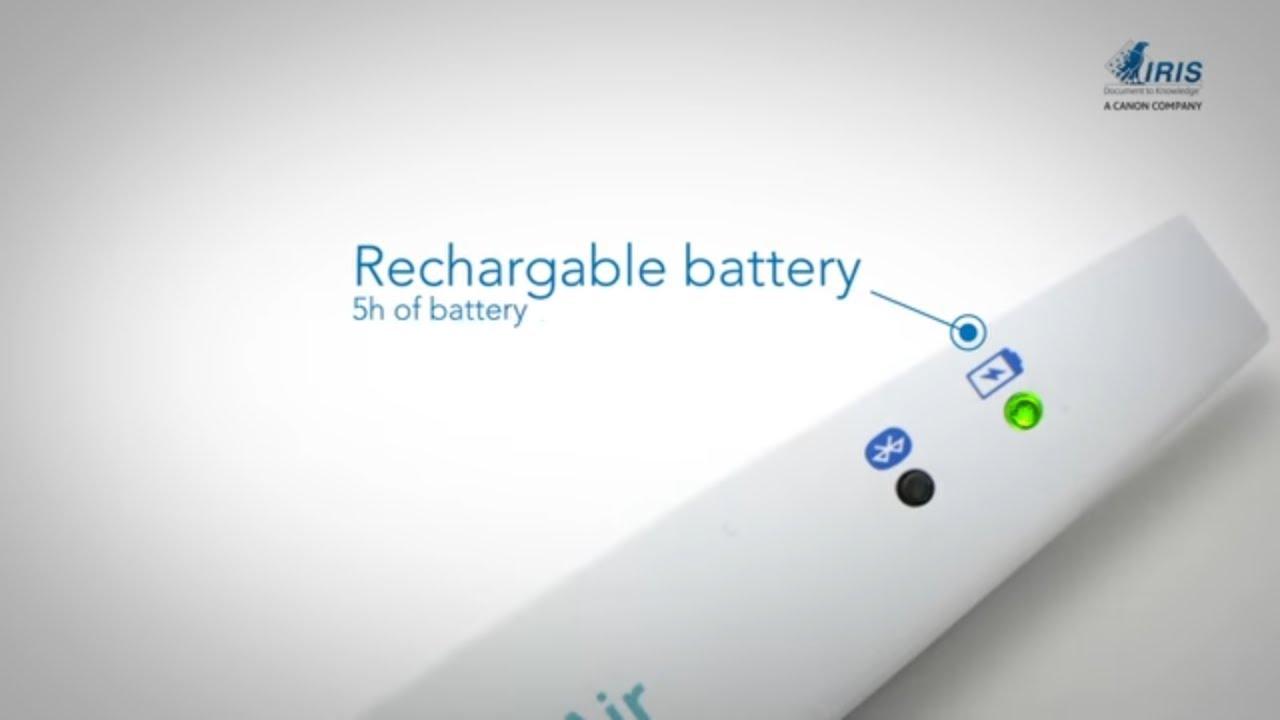 Irispen Air 7 Pen Scanner Scan Read Translate Youtube