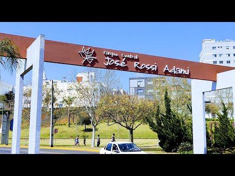 Caçador SC  O Parque Central  José Rossi Adami