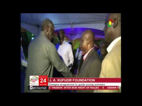 Kufuor Foundation designs programme to guide young scholars - 12/11/2016